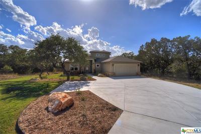 Canyon Lake Single Family Home For Sale: 2395 Sunset Rdg