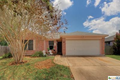 Cedar Park Single Family Home For Sale: 2200 Clayton Way