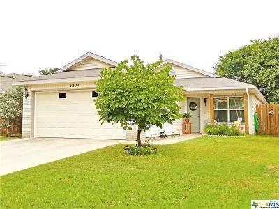 Temple Single Family Home Pending Take Backups: 5202 Sam Houston