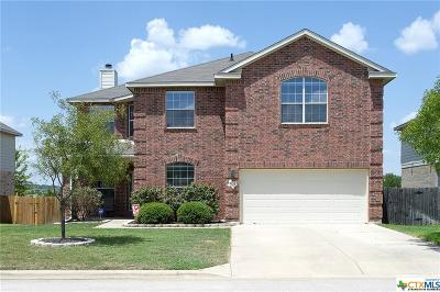 Harker Heights Single Family Home For Sale: 805 Kachina