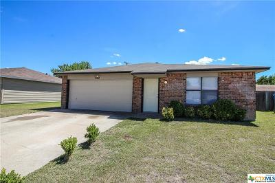 Killeen Single Family Home For Sale: 2514 Traverse