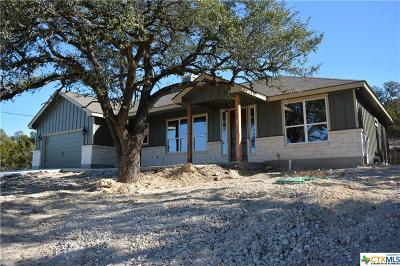 Canyon Lake Single Family Home For Sale: 2190 Rocky Ridge Loop