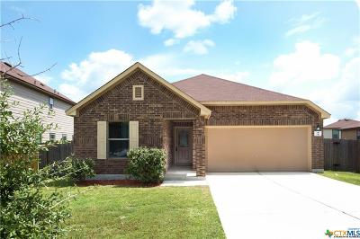 Kyle TX Single Family Home For Sale: $197,500
