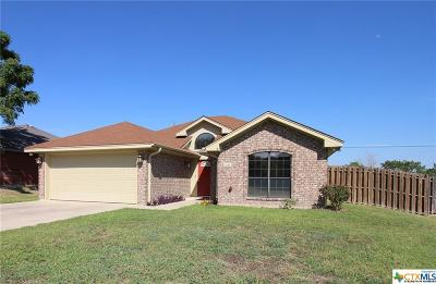 Harker Heights Single Family Home For Sale: 1009 Chablis