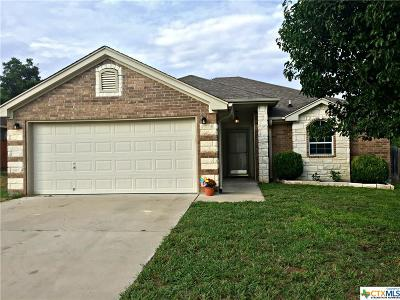 Copperas Cove Single Family Home For Sale: 1714 Indian Camp