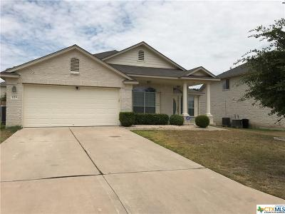 Harker Heights Single Family Home For Sale: 223 Memory