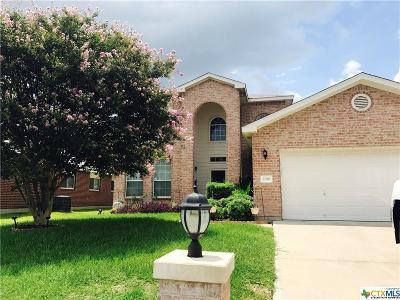 Harker Heights Single Family Home For Sale: 2010 Rain Dance