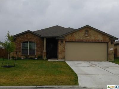 Copperas Cove TX Single Family Home For Sale: $192,500