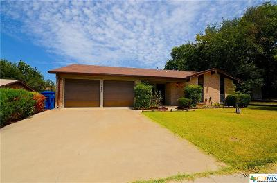 Copperas Cove Single Family Home For Sale: 1503 Bluffdale Street