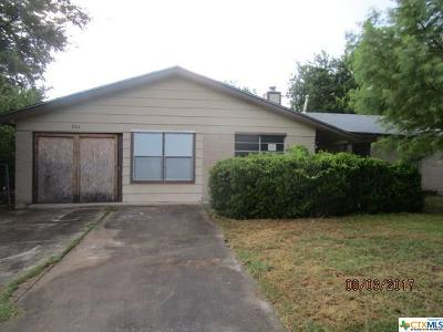 Copperas Cove Single Family Home For Sale: 206 Sherwood Avenue