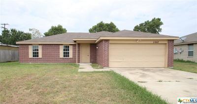Killeen Single Family Home For Sale: 5907 Medina