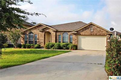 Harker Heights Single Family Home For Sale: 210 Scarlet Lane