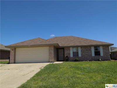 Killeen Single Family Home For Sale: 5400 Vail Drive