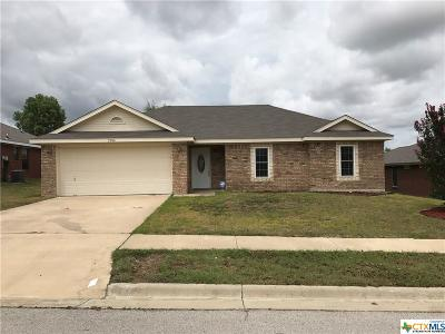 Copperas Cove Single Family Home For Sale: 2904 Curtis Drive