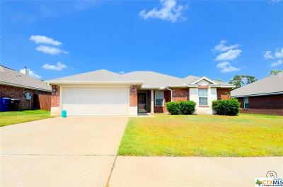 Copperas Cove Single Family Home For Sale: 1806 Indian Camp Trail