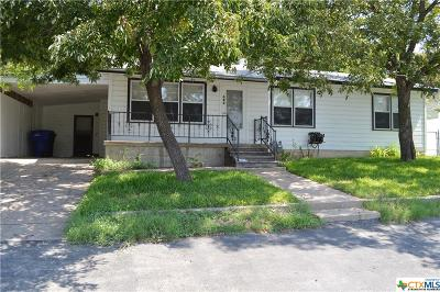 Copperas Cove Single Family Home For Sale: 604 Hill Street