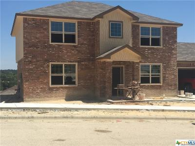Copperas Cove Single Family Home For Sale: 1712 Dream Catcher
