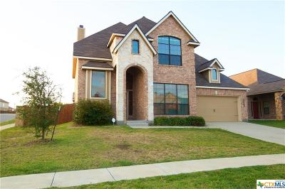 Killeen Single Family Home For Sale: 3501 Castleton