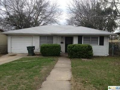 Temple Single Family Home For Sale: 107 24th