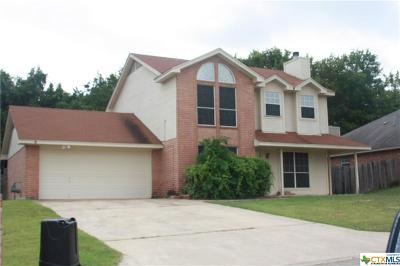 Harker Heights Single Family Home For Sale: 607 Citation
