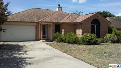 Copperas Cove Single Family Home For Sale: 618 Atkinson