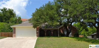 Harker Heights Single Family Home For Sale: 1701 Cedar Oaks Lane