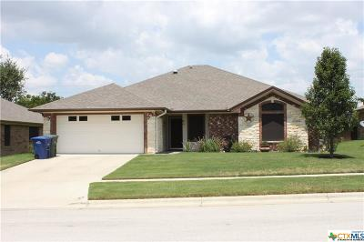Copperas Cove Single Family Home For Sale: 3512 Lauren Street