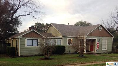Belton Single Family Home For Sale: 303 12th Avenue