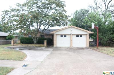 Copperas Cove Single Family Home For Sale: 1213 Craig