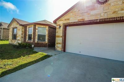 Killeen TX Single Family Home For Sale: $139,999