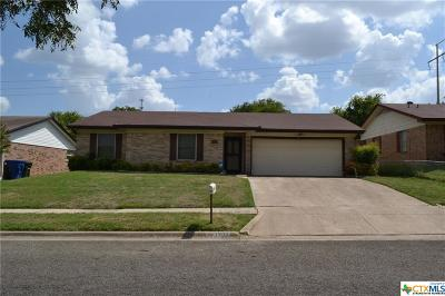 Copperas Cove Single Family Home For Sale: 1207 Sublett Avenue