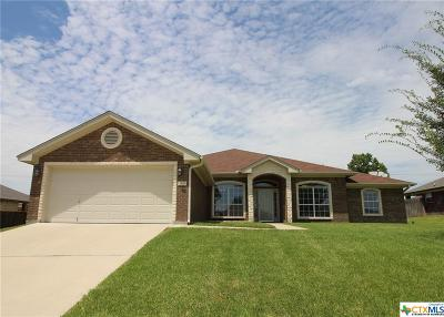 Killeen Single Family Home For Sale: 5609 Drystone