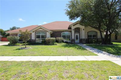 Killeen Single Family Home For Sale: 6408 Manganite