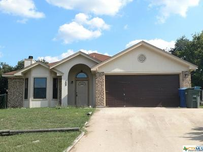 Copperas Cove Single Family Home For Sale: 108 Campfire Circle