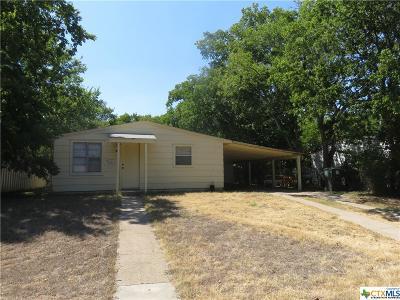 Killeen Single Family Home For Sale: 809 Evergreen Street