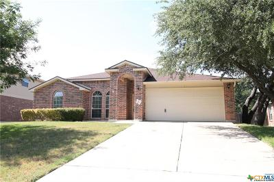 Harker Heights Single Family Home For Sale: 112 Deer Horn Pass