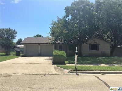 Killeen Single Family Home For Sale: 1310 Ruiz Drive
