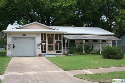 Killeen Single Family Home For Sale: 2013 White Avenue