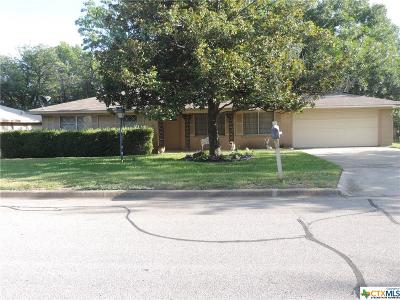 Temple Single Family Home For Sale: 3305 Chisholm Trail