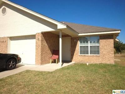 Harker Heights TX Multi Family Home For Sale: $150,000
