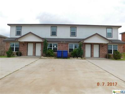 Copperas Cove Multi Family Home For Sale: 4105 Wine Cup