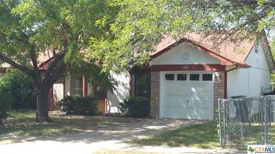 Killeen Single Family Home For Sale: 2603 Bluebonnet Drive