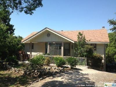 Canyon Lake TX Single Family Home For Sale: $199,000