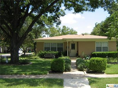 Belton TX Single Family Home For Sale: $111,000