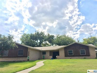 Copperas Cove Single Family Home For Sale: 606 Cedar Drive