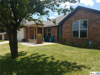 Killeen Single Family Home For Sale: 4108 Crosscut Loop