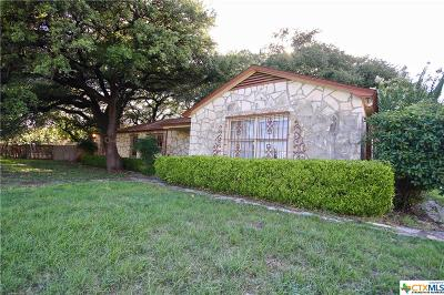 Killeen Single Family Home For Sale: 501 Conder