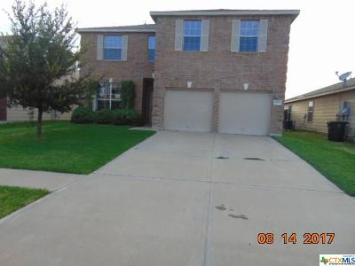 Killeen Single Family Home For Sale: 6804 Griffith Loop