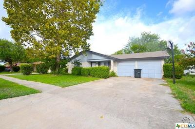 Killeen Single Family Home For Sale: 2305 Daisy Drive