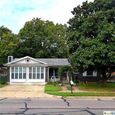 Killeen Single Family Home For Sale: 1315 Illinois